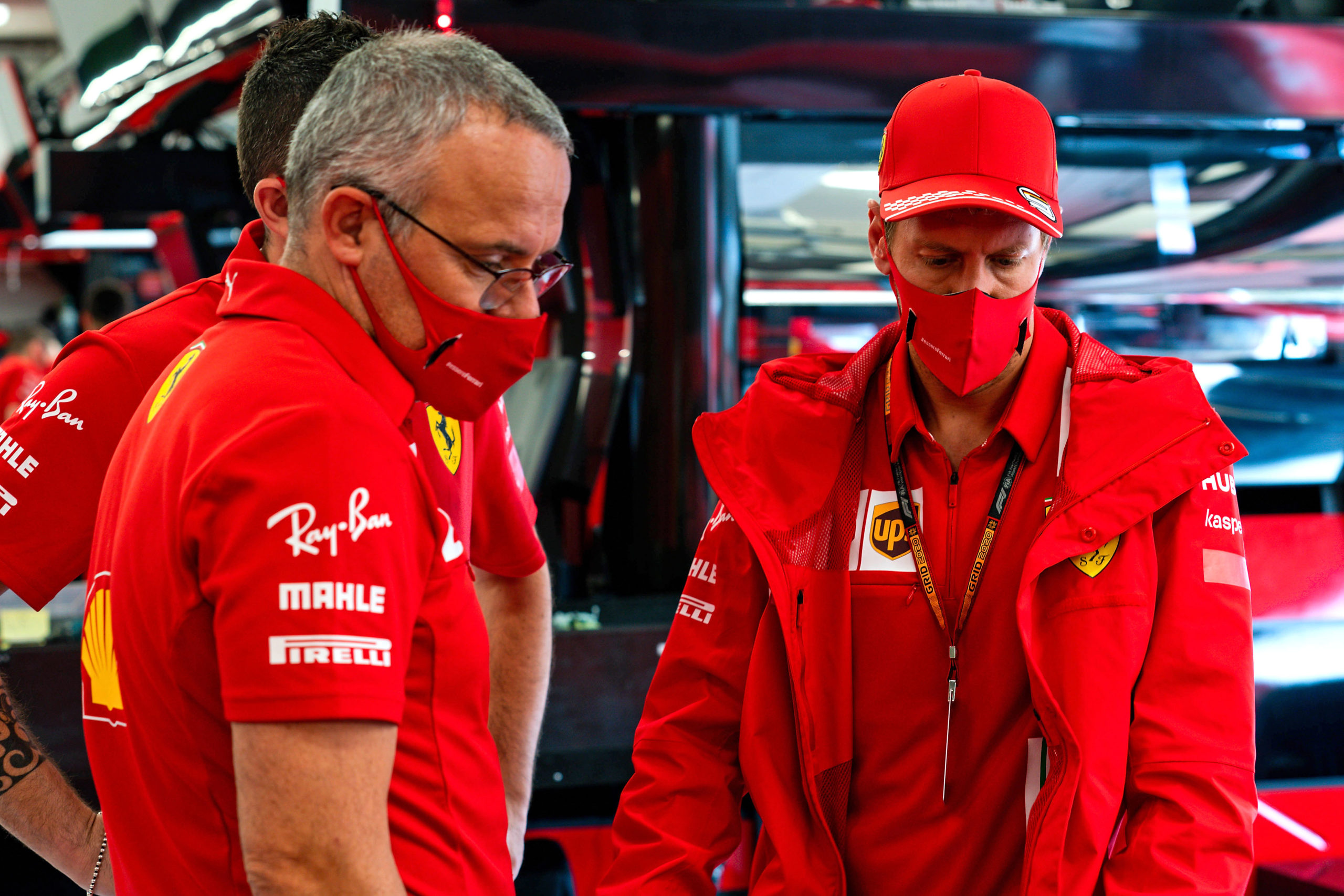 GP UNGHERIA  F1/2020 -  GIOVEDÌ 16/07/2020        credit: @Scuderia Ferrari Press Office, Vettel