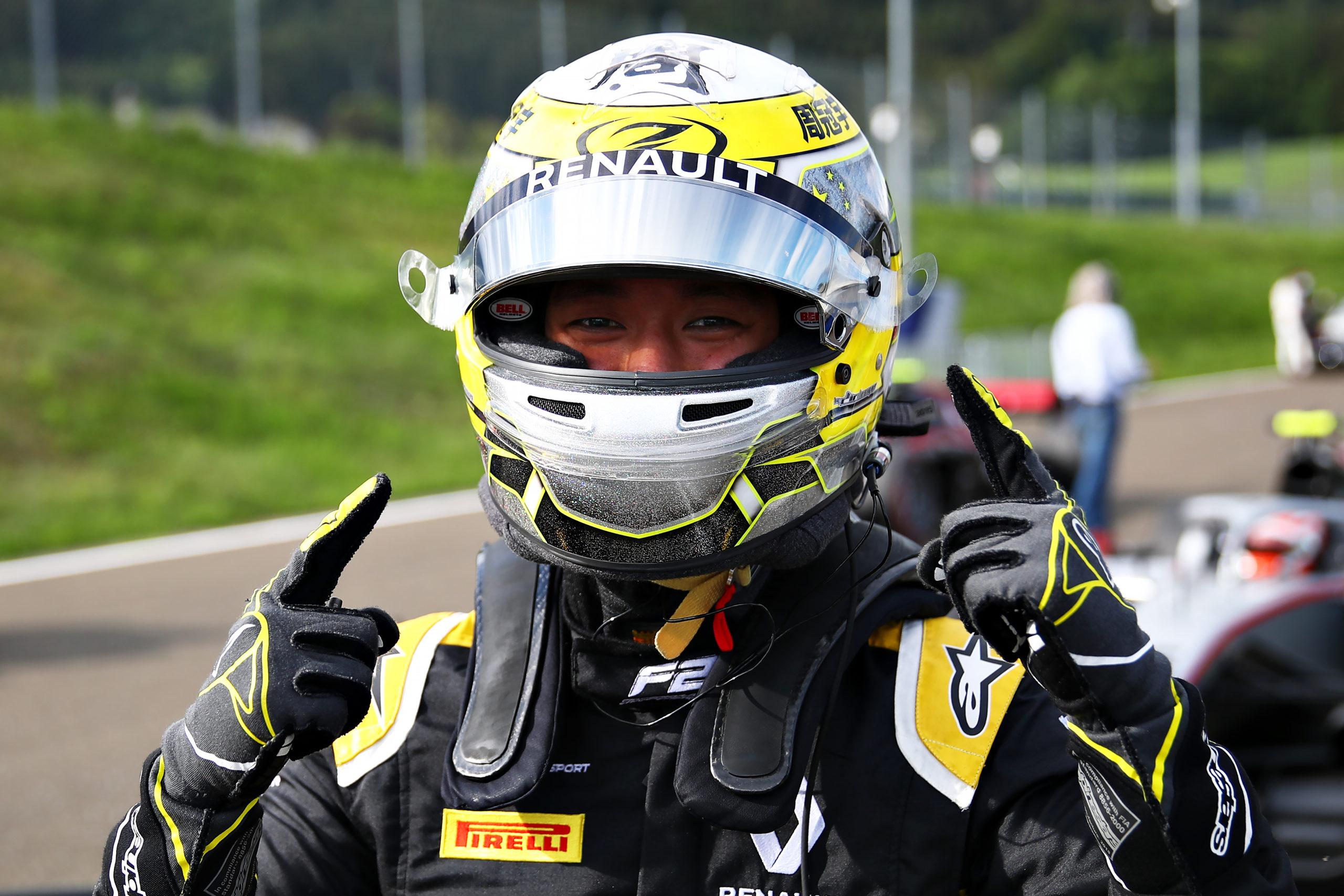Zhou Qualy F2 Austria 2020