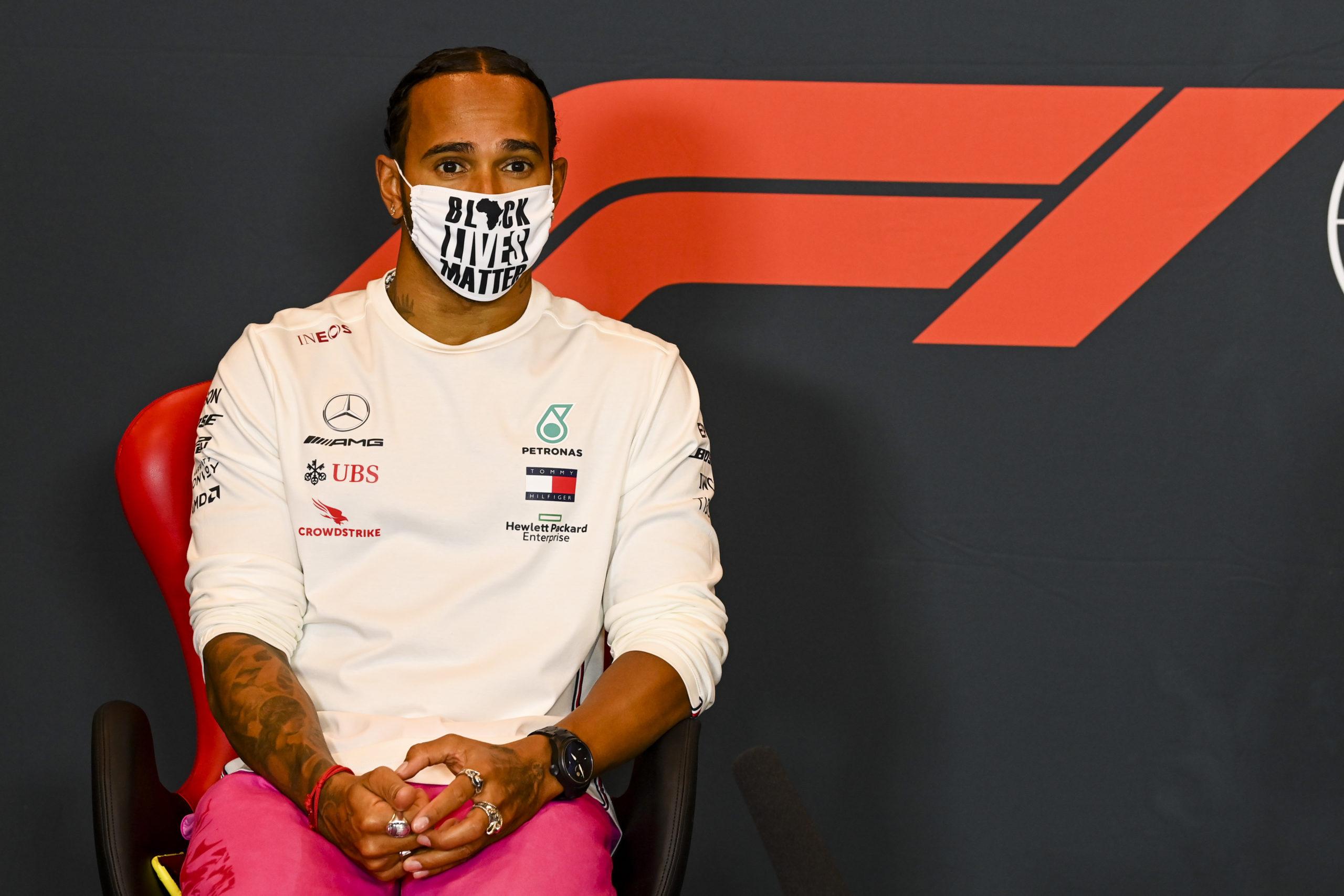 2020 Emilia Romagna Grand Prix, Friday - LAT Images, Mercedes, Hamilton