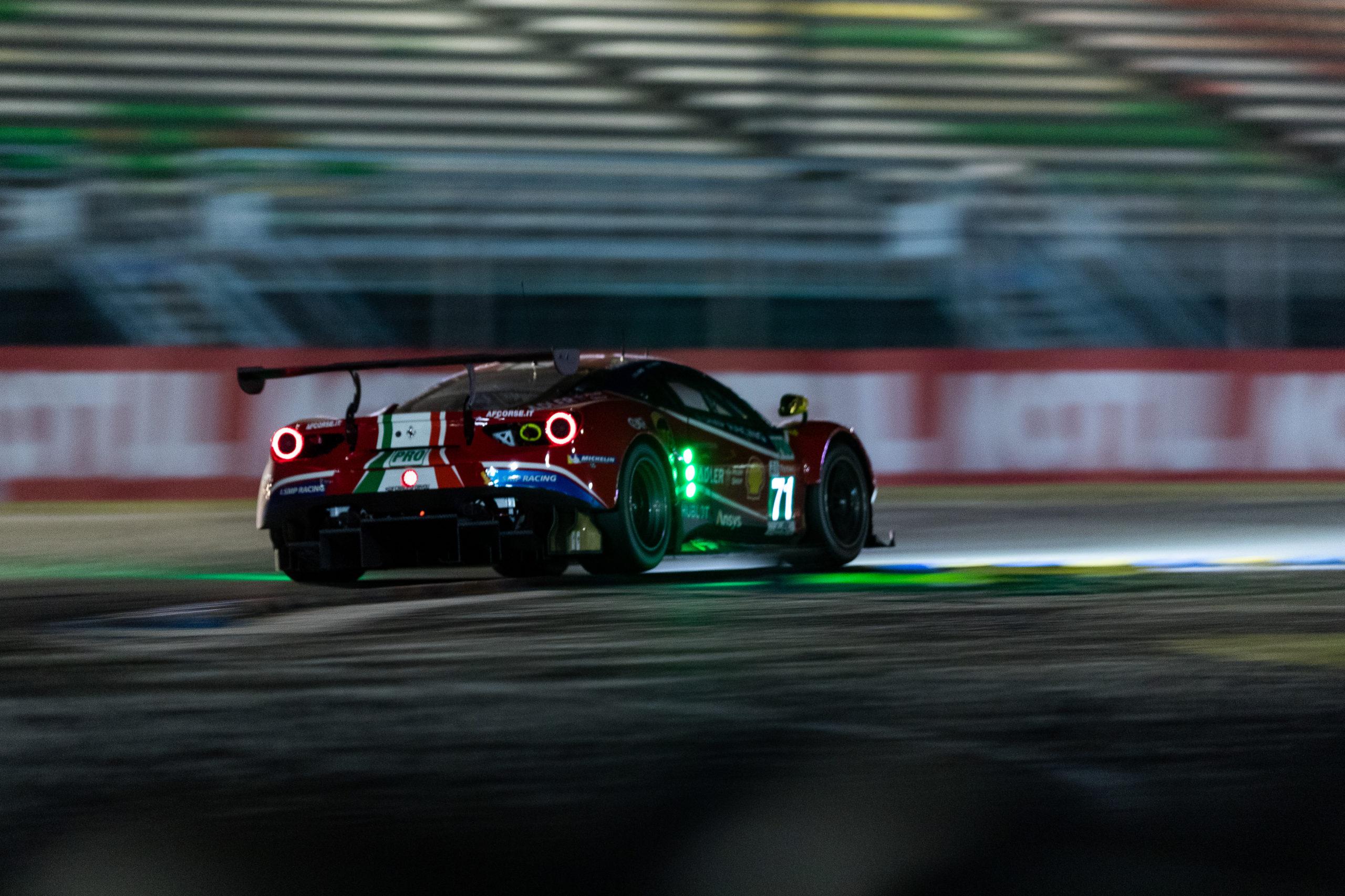 #71 AF CORSE / ITA / Ferrari 488 GTE EVO - 24h of Le Mans - Circuit de la Sarthe - Le Mans - France -