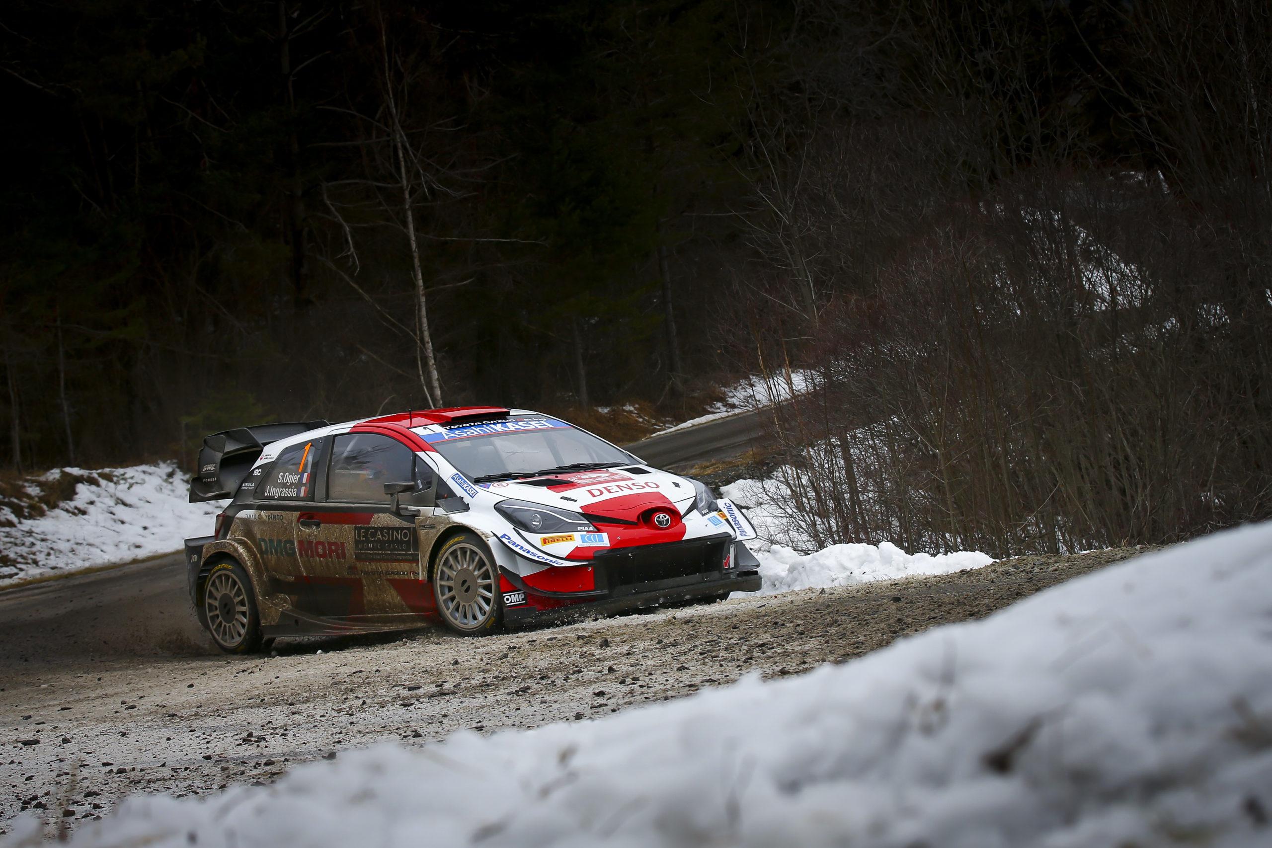2021 FIA World Rally Championship / Round 01 / Monte Carlo Rally / 21-24 January, 2021 // Worldwide Copyright: Toyota Gazoo Racing WRT, Sébastien Ogier