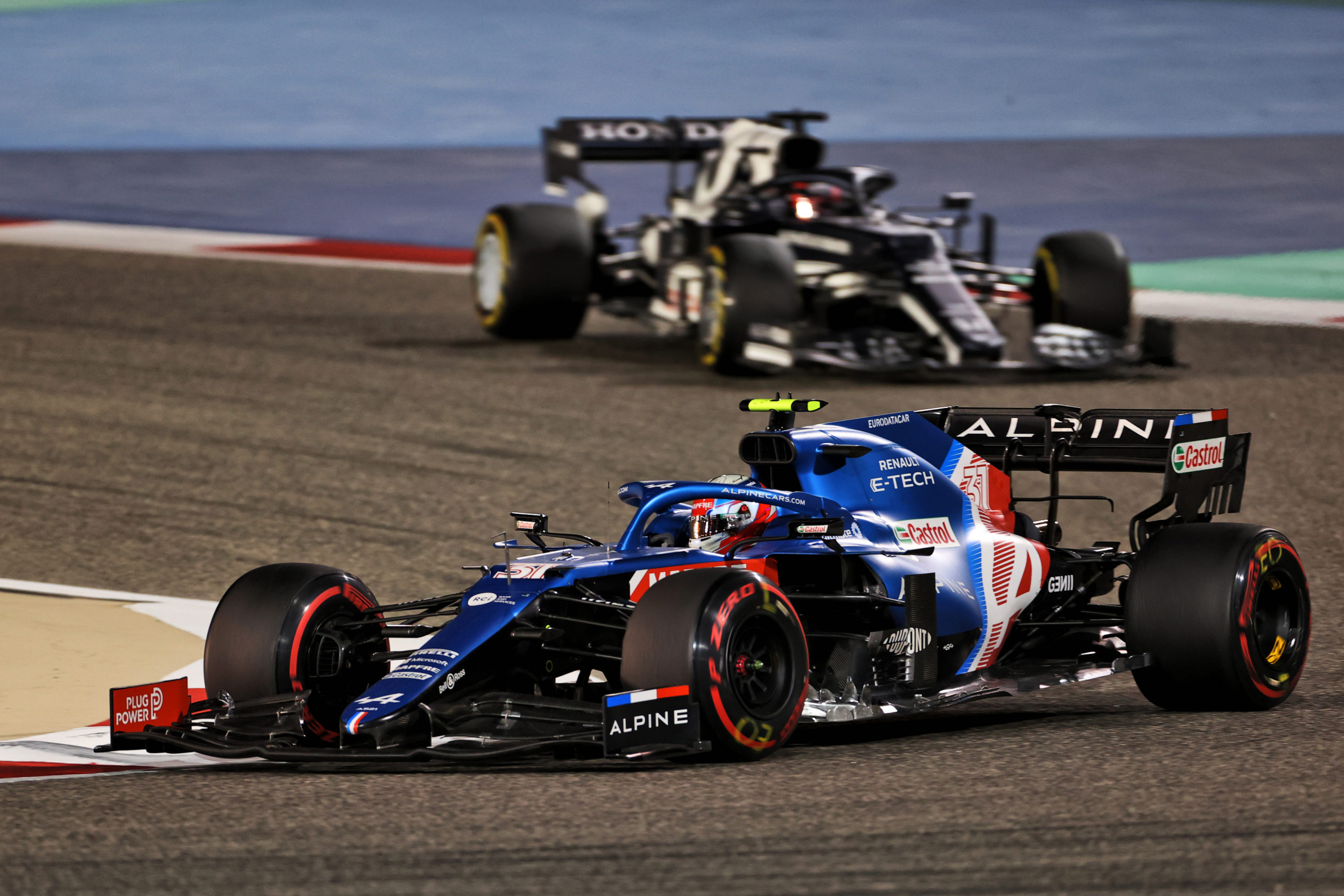 Esteban Ocon (FRA) Alpine F1 Team A521. Bahrain Grand Prix, Sunday 28th March 2021. Sakhir, Bahrain.
