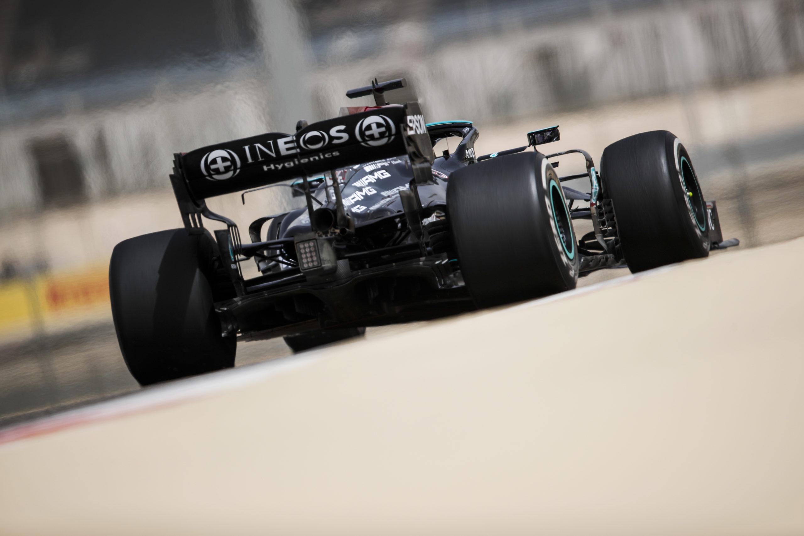 Mercedes 2021 Bahrain Pre-Season Test, Day 2 - LAT Images
