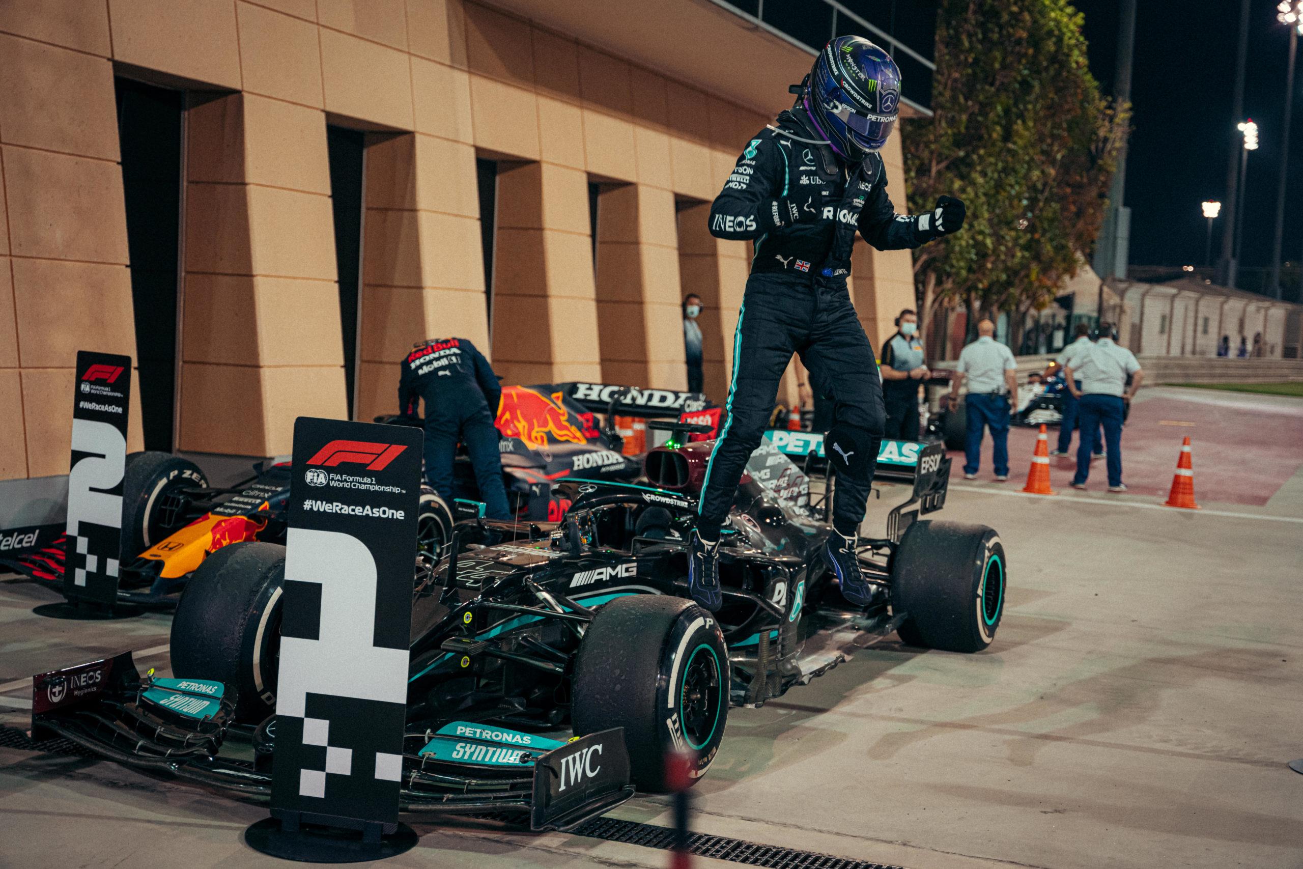 Lewis Hamilton, 2021 Bahrain Grand Prix, Sunday - Sebastian Kawka