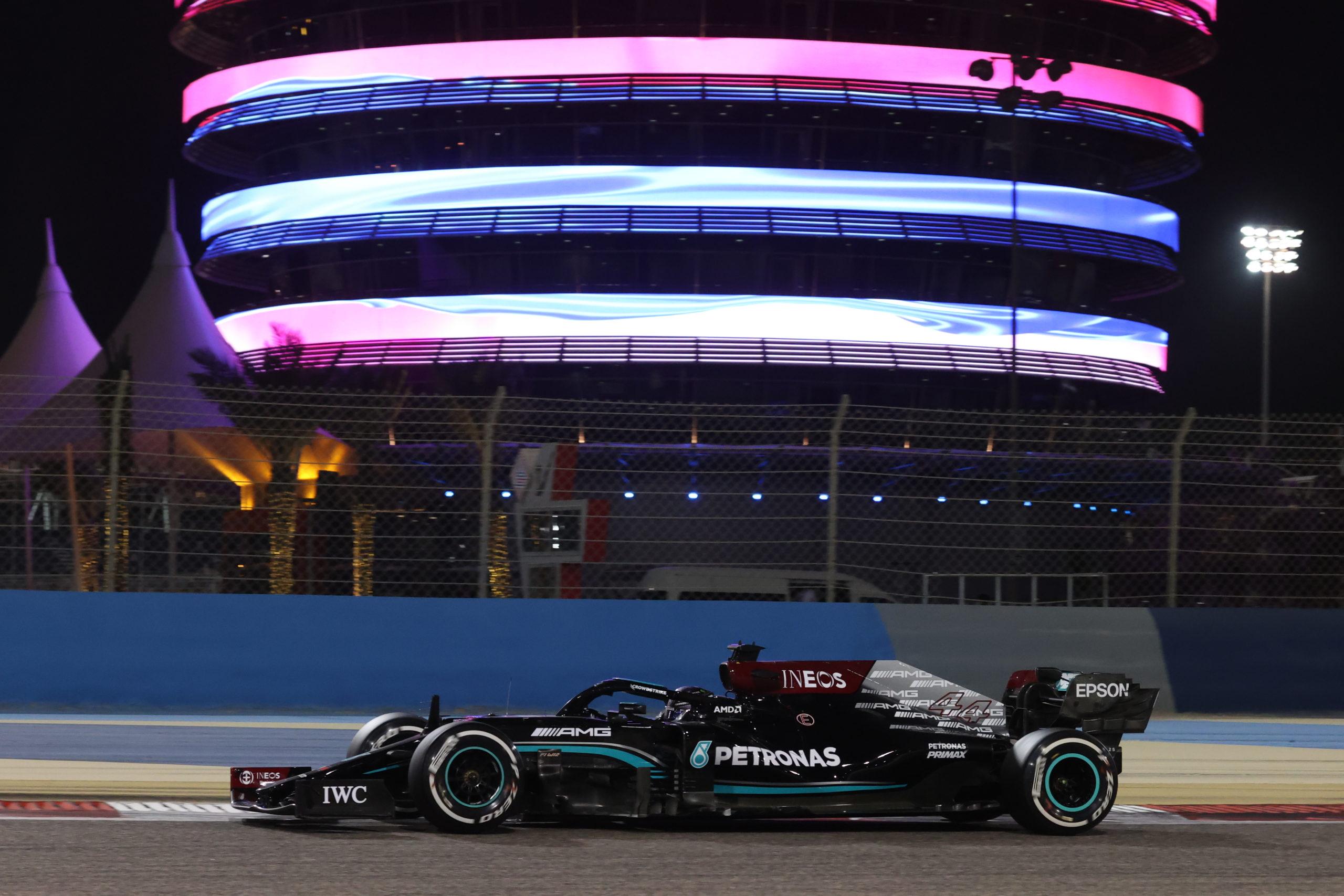 Lewis Hamilton, 2021 Bahrain Grand Prix, Sunday - Jiri Krenek