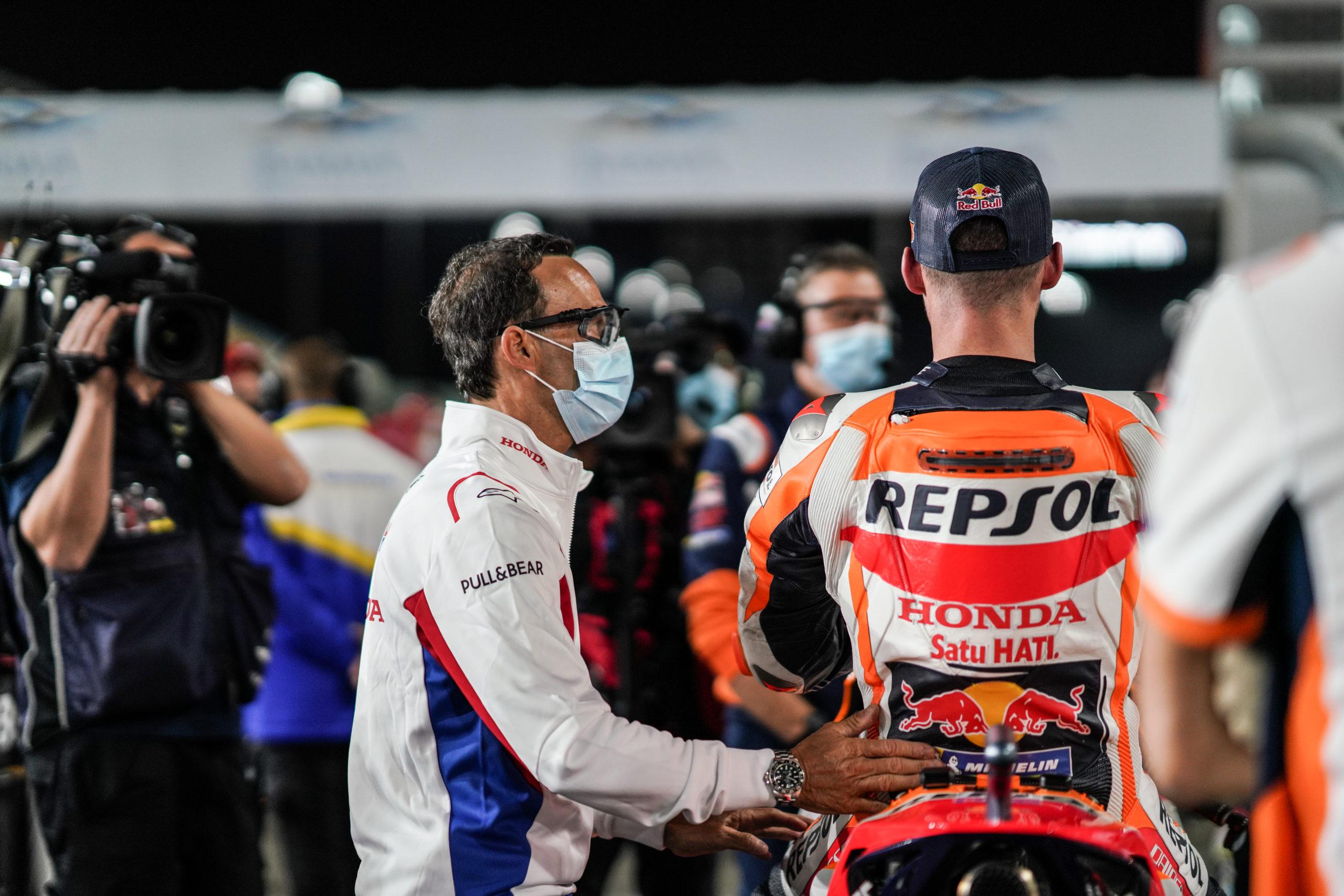 Pol Espargaro, Alberto Puig, Repsol Honda Team, Qatar MotoGP