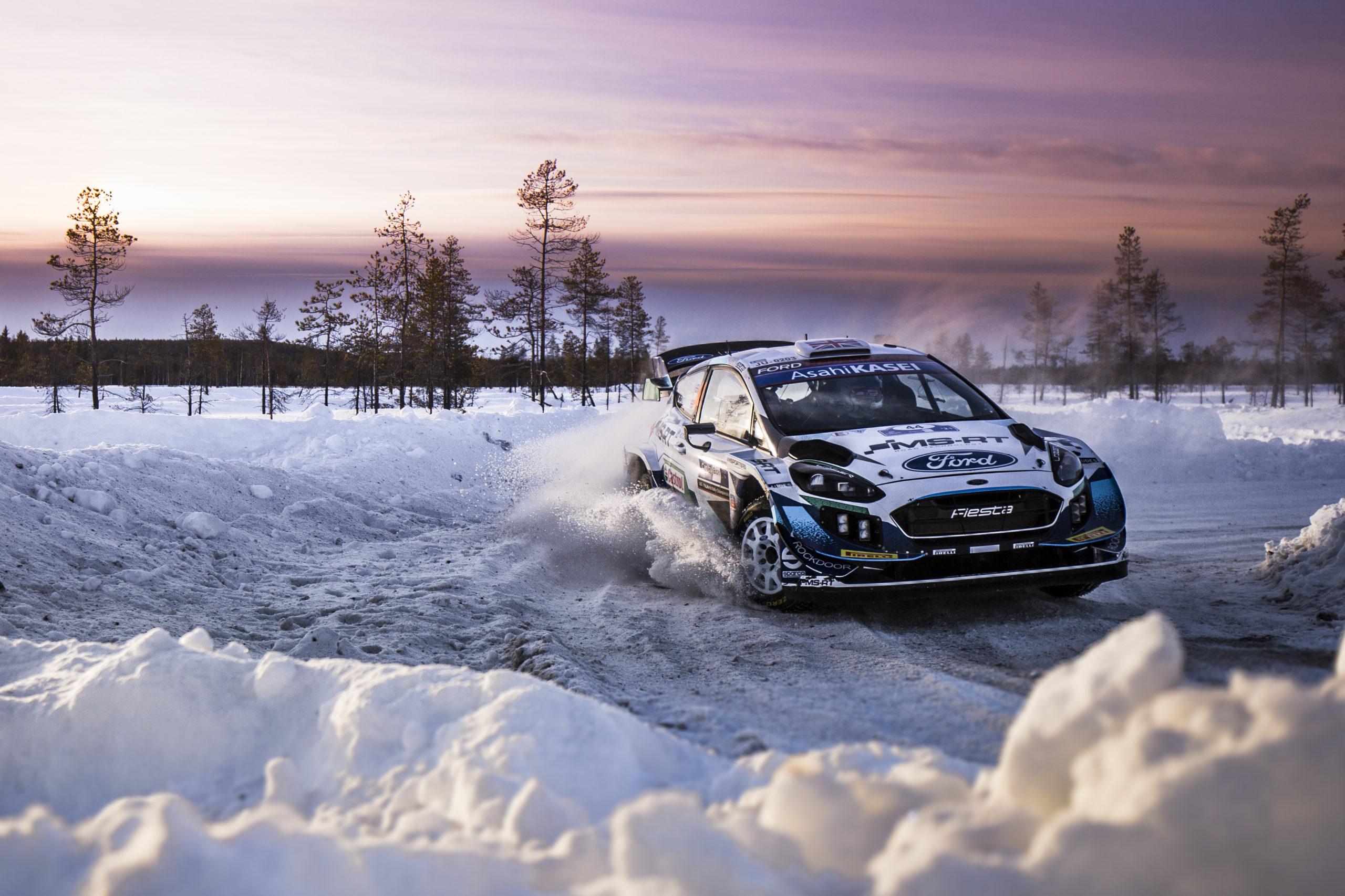 M-Sport, WRC, Rally del ártico 2021