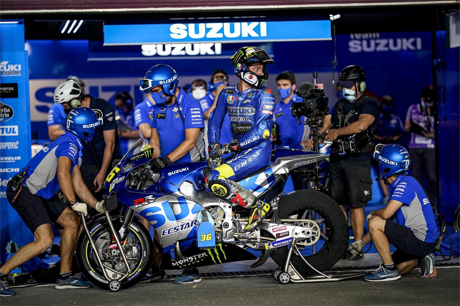 Joan Mir, Team Suzuki Ecstar, Qatar MotoGP™ Official